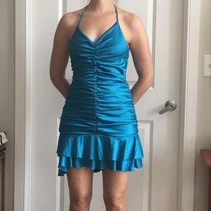 NWOT H&M Teal blue dress